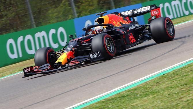 Verstappen lidera la tercera sessió de lliures a Imola