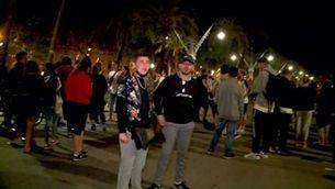 Primera nit a Barcelona sense toc de queda