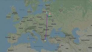 Bielorússia obliga aterrar un avió per poder detenir un opositor a Lukaixenko