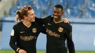 Rakuten amenaça el Barça per l'actitud racista de Griezmann i Dembélé