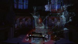 Juan de la Rubia i Marco Mezquida en concert al Palau, amb projeccions d'Alba G. Corral