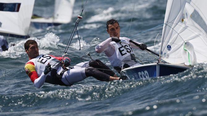 El barceloní Jordi Xammar (CN Garraf) i el gallec Nicolás Rodríguez han guanyat la medalla de bronze en la classe 470 de vela.