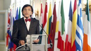Imatge d'arxiu d'Elio di Rupo, en una compareixença pública (Foto: Reuters)