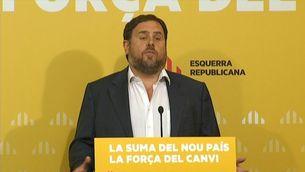 Oriol Junqueras al Consell Nacional d'ERC
