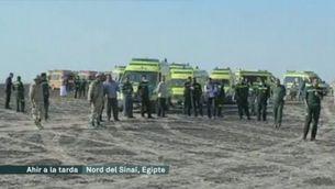 Accident d'un avió rus amb 224 passatgers al Sinaí