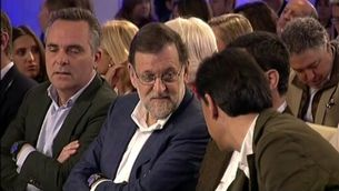 Mariano Rajoy a la convenció sobre el pacte social celebrada pel PP a Sevilla