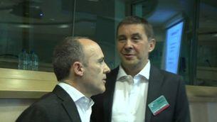 Arnaldo Otegi, al Parlament Europeu