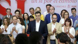 """Pedro Sánchez: """"El PSOE reafirma la seva condició de partit hegemònic"""""""