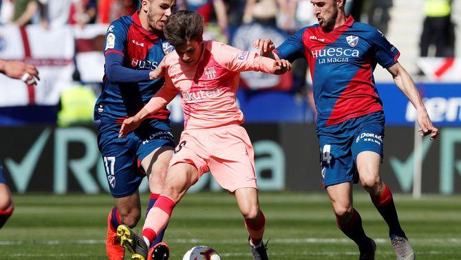 La segona unitat del Barça no passa d'un empat per oblidar a Osca (0-0)