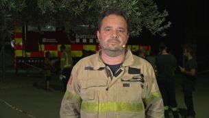 Marc Castellnou, cap del Grup d'Actuacions Forestals dels Bombers de la Generalitat