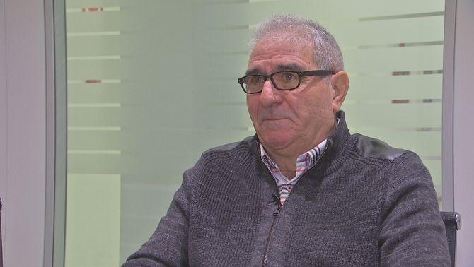 Antonio César té un càncer de pulmó provocat per l'exposició a l'amiant mentre treballava a TMB