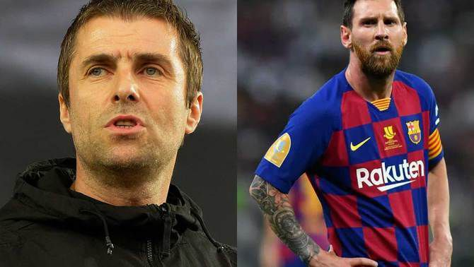 Liam Gallagher demana el fitxatge de Messi pel City després de la renovació de Guardiola