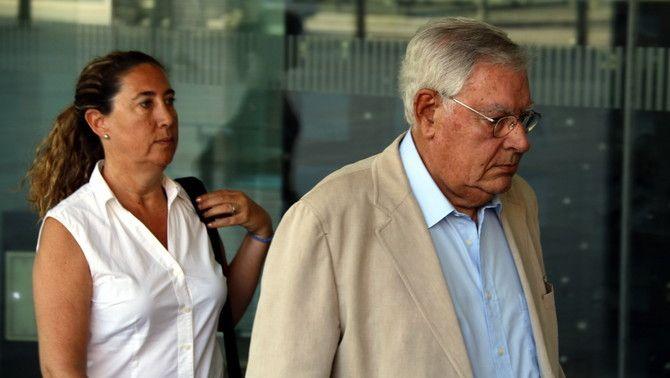 Jordi i Gemma Montull, arribant a l'última sessió del judici del cas Palau, 16 de juny de 2017