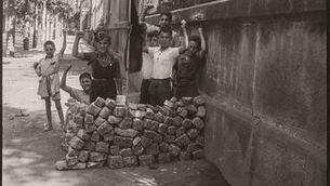 """Antoni Campañà. """"Barricada de joguina, carrer Diputació"""", agost 1936"""