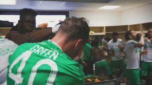 Etienne Green, el debut més rocambolesc amb el Saint-Étienne... i de verd