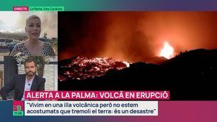 """L'erupció del volcà Cumbre Vieja: """"És dur omplir una motxilla amb el més important de la teva vida"""""""
