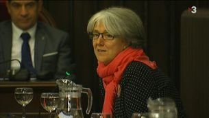 La portaveu d'ERC a l'Ajuntament de Girona, Maria Mercè Roca