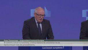 La Comissió Europea presenta la reforma de com es fan les peticions d'asil