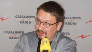 Xavier Domènech, portaveu d'En Comú Podem