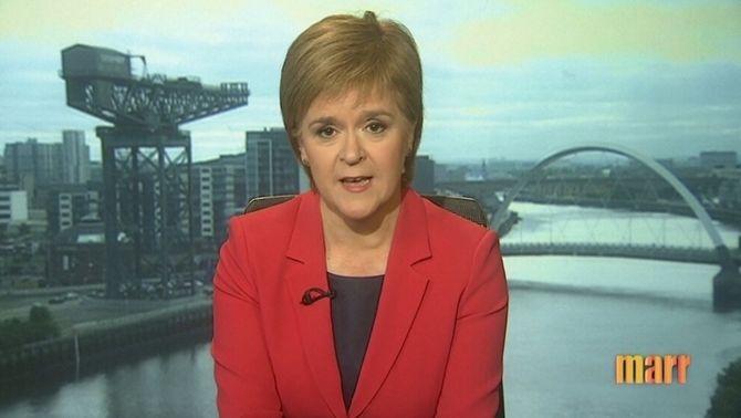 Sturgeon avisa que el Parlament escocès podria bloquejar el Brexit