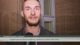 Testimonis de l'explosió a Ansbach, a Baviera
