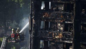 Els Bombers inspeccionen el gratacel de Londres
