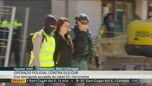Detinguda una integrant dels CDR acusada de terrorisme i rebel·lió