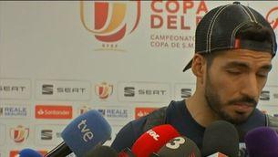 """Luis Suárez: """"Hem fet un dels millors partits de la temporada"""""""