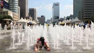 Rècords de calor absolut a Corea del Sud