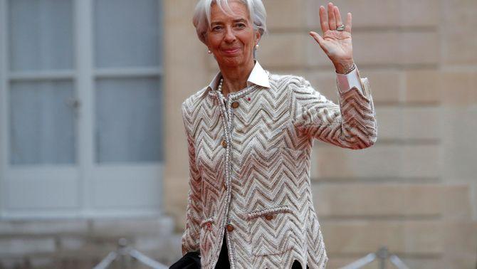La presidenta de l'FMI, Christine Lagarde (Reuters)