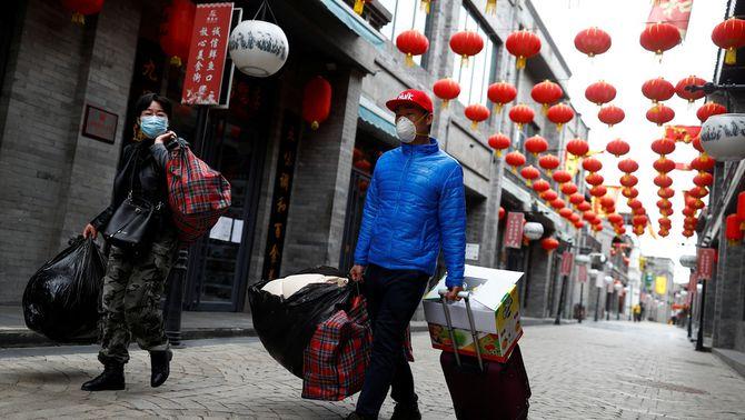 La Xina prohibeix de forma temporal l'arribada d'estrangers pel coronavirus