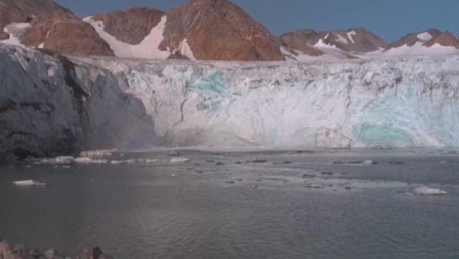 El desgel a Groenlàndia supera el punt de no retorn