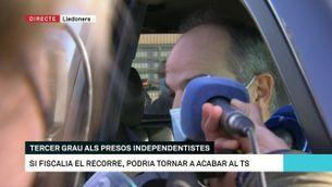 """Jordi Turull: """"Estarem actius tots els dies que estem en llibertat"""""""
