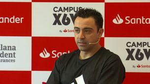 """Xavi: """"Jo em sento preparat per entrenar el Barça"""""""