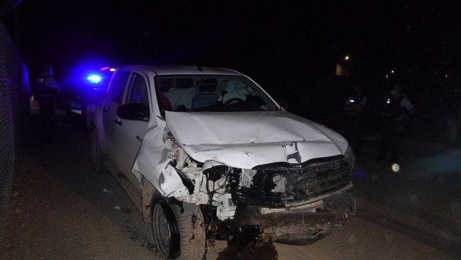 Els Mossos van aturar el totterreny que havia quedat molt malmès per l'accident