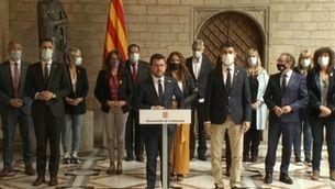 """Aragonès avisa que la detenció de Puigdemont """"no ajuda gens a resoldre el conflicte"""""""