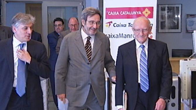 Els directius de les caixes Tarragona, Catalunya i Manresa es van apujar el sou abans de fusionar-se