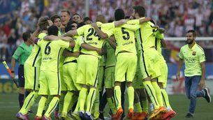 El Barça, campió al Calderón