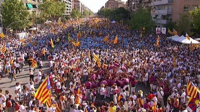 Via Catalana a la Meridiana