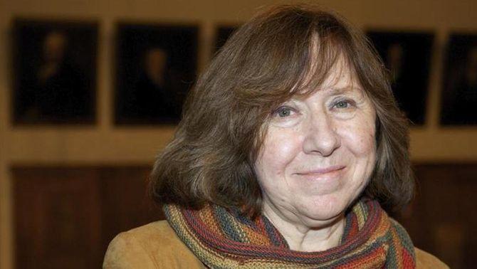La bielorussa Svetlana Aleksiévitx guanya el Premi Nobel de Literatura