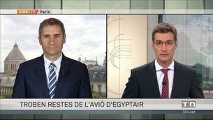 Egipte afirma que ha trobat peces de l'avió d'Egyptair que va desaparèixer en ple vol