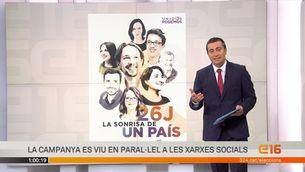 """Rajoy i Sánchez, """"trending topic"""" una hora abans de la campanya"""