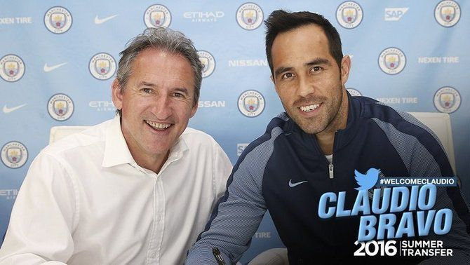 El Manchester City fa oficial el fitxatge de l'exporter del Barça Claudio Bravo