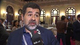 Artur Mas, els expresidents del Parlament i les entitats sobiranistes, al costat de Puigdemont
