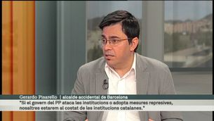 """""""L'entrevista del diumenge"""", amb Gerardo Pisarello"""