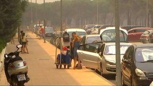 Continua la lluita contra el foc a Doñana