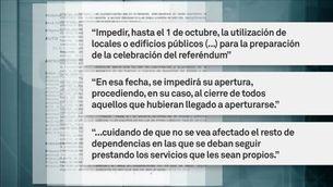 El TSJC aparta la fiscalia i dona noves ordres per impedir el referèndum de l'1 d'octubre