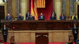 Parlament de Catalunya el 17 de gener