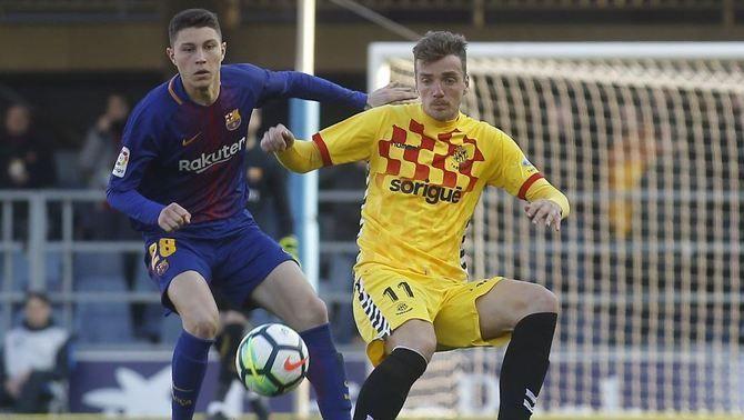 FC Barcelona B i Nàstic de Tarragona empaten al Mini (1-1)