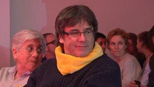 """Puigdemont: """"No soc un criminal, mai he usat la violència"""""""